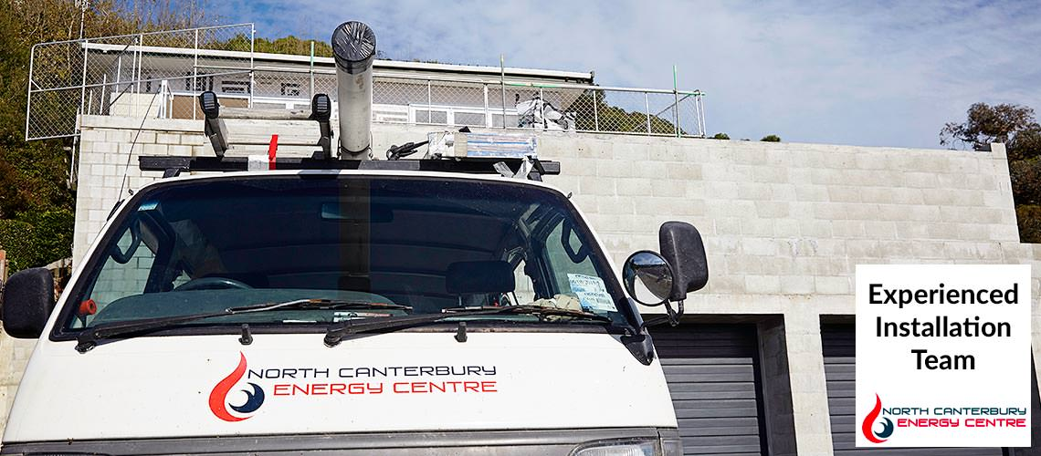 North Canterbury Energy experienced installation team