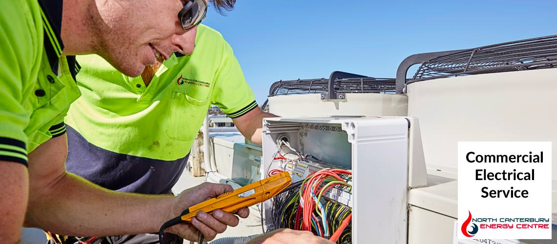 North Canterbury Energy commercial electrical service